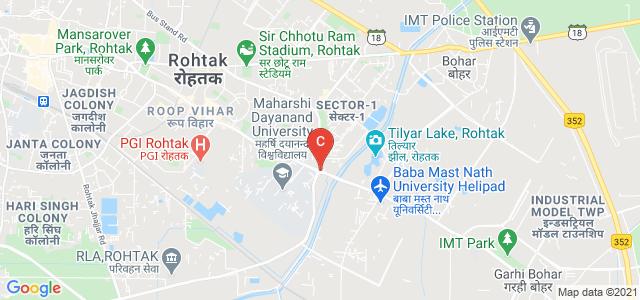 University Institute of Engineering & Technology (UIET) M D University Rohtak, Maharshi Dayanand University, Rohtak, Haryana, India