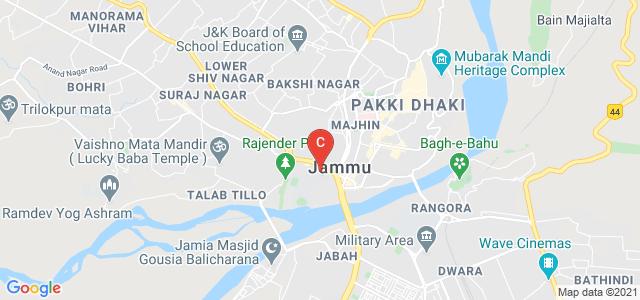 Indian Institute of Management Jammu, Old University Campus, Nawabad, Jammu