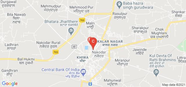 Guru Nanak National College -Women, Nakodar Road, Guru Teg Bahadur Nagar, Nakodar, Punjab, India