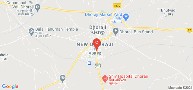 Saraswati College Of Commerce BBA & IT, Railway Station Road, Vishi Plot, New Dhoraji, Dhoraji, Gujarat, India