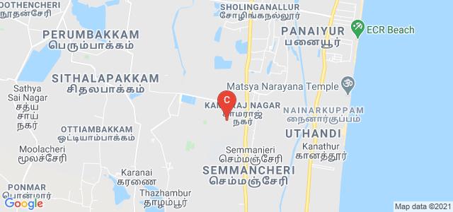 Sathyabama Institute Of Science And Technology admission office, SH 49A, Kamaraj Nagar, Semmancheri, Chennai, Tamil Nadu, India