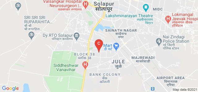 V. G. Shivdare College Of Arts, Commerce And Science, Vijapur Rd, Jule, Solapur, Maharashtra, India