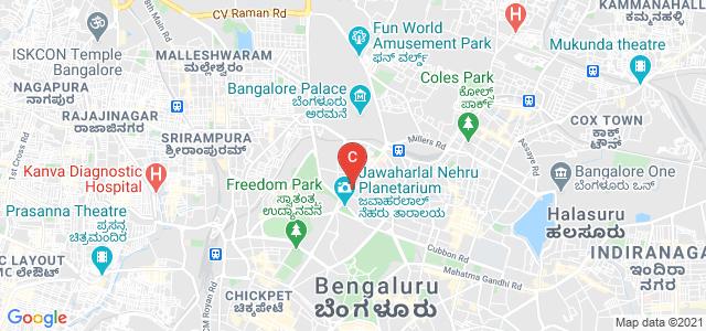 St Anne's First Grade College For Women, Millers Road, Vasanth Nagar, Bangalore, Karnataka, India