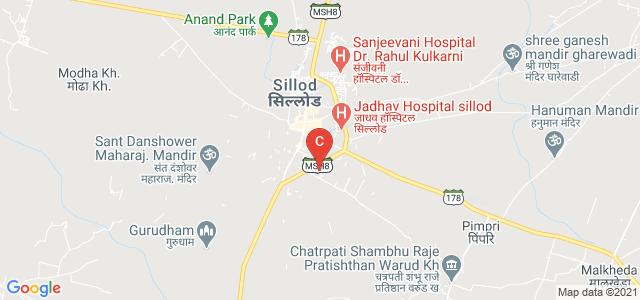 Yashvantrao Chavhan College Of Arts Commerce And Science, Sillod, Sillod - Aurangabad Road, Yashwant Nagar, Sillod, Maharashtra, India
