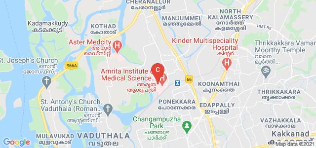 Amrita School of Dentistry, Amrita Nagar, Edappally, Kochi, Kerala, India