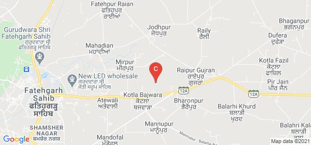 Saffron College, Chandigarh Road, Shamsher Nagar, Sirhind, Fatehgarh Sahib, Punjab, India