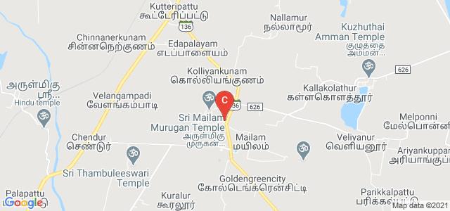 Srimath Sivagnana Balaya Swamigal College, State Highway 136, Mailam, Tamil Nadu, India