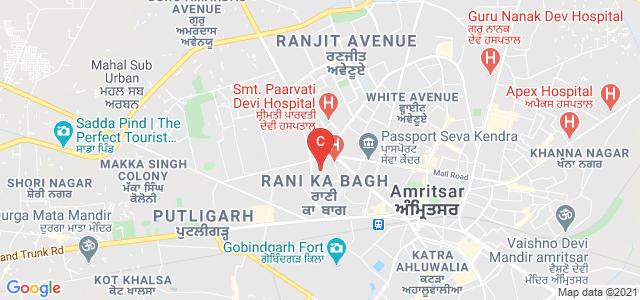 Saroop Rani Government College, Mcleod Road, Rani Ka Bagh, Amritsar Cantonment, Amritsar, Punjab, India