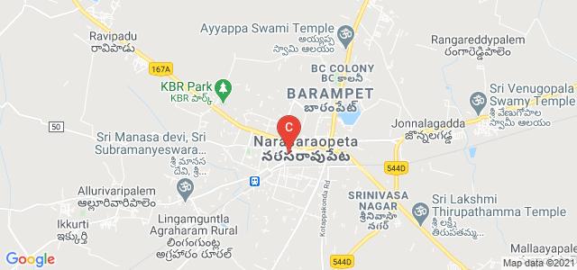 Vagdevi Degree College, Arundelpet, Narasaraopet, Andhra Pradesh, India