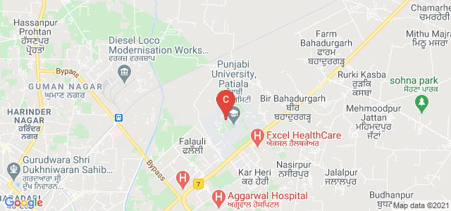 Punjabi University patiala, Urban Estate Phase II, Patiala, Punjab, India