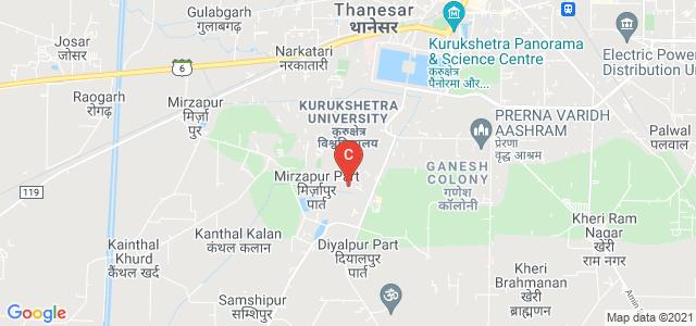National Institute of Technology, Thanesar, Kurukshetra, Haryana, India