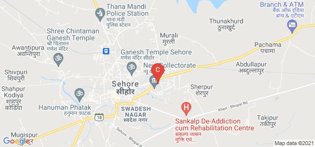 Chandra Shekhar Azad Govt. College, Sehore, Chanakyapuri, Sehore, Madhya Pradesh, India