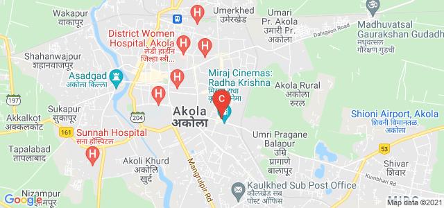 Smt. Laxmibai Radhakishan Toshniwal College Of Commerce, Akola, Toshniwal Layout, Dwarka Nagri, Akola, Maharashtra, India