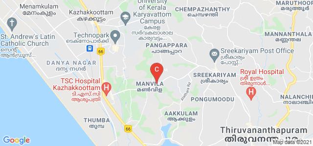 College of Engineering Trivandrum, Sreekaryam - Kulathoor Road, Ambady Nagar, Thiruvananthapuram, Kerala, India