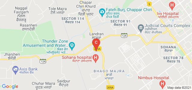 Chandigarh Group of Colleges - Landran, Sector 112, Mohali, Punjab, India