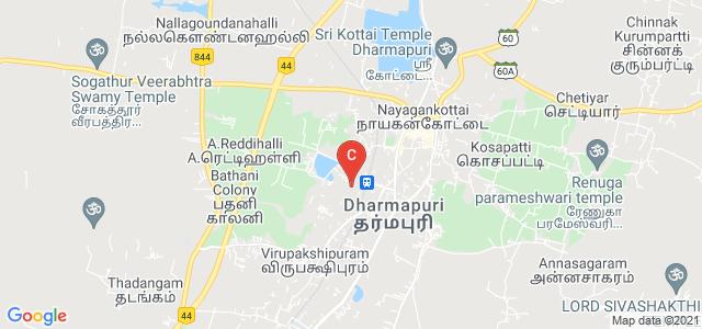 Government Dharmapuri Medical College And Hospital, Netaji Byebass Rodw, Nelli Nagar, Dharmapuri, Tamil Nadu, India
