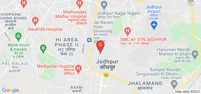 Jai Narain Vyas University, Air Force Area, Jodhpur, Rajasthan, India