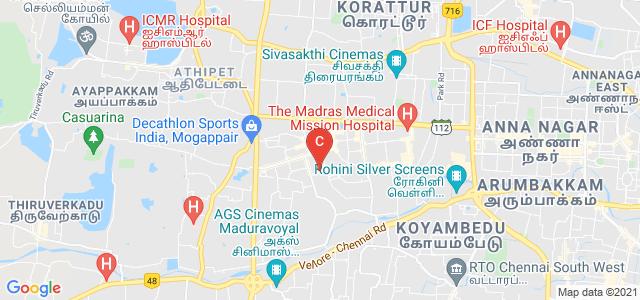 Mar Gregorios College of Arts, W Mogappair Rd, Mogappair West, Mogappair, Chennai, Tamil Nadu, India