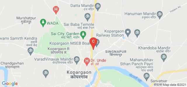 Shri Sadguru Gangageer Maharaj Science, Gautam Arts & Sanjivani Commerce College, Shardanagar, Kopargaon, Maharashtra, India