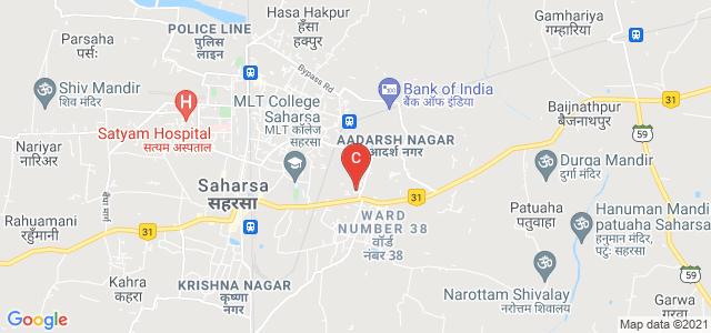 Rajendra Mishra College ''Saharsa'', Hatiya Gachhi, Saharsa, Bihar, India