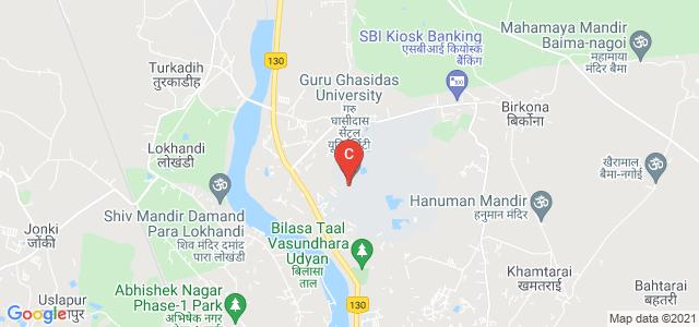 Guru Ghasidas University, C.G, Koni, Bilaspur, Chhattisgarh, India