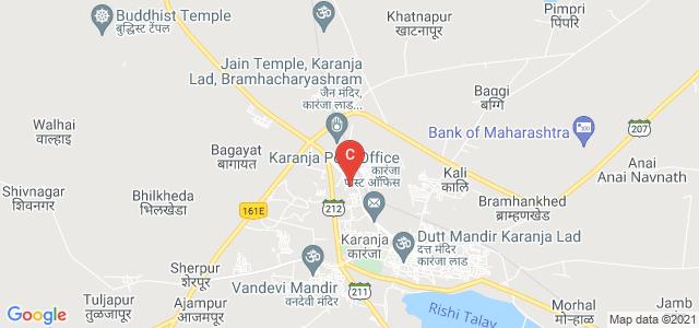 Swatantrya Sainik Shri Kanhaiyalalji Ramchandra Innani Mahavidyalaya, Sampat Colony, Karanja, Maharashtra, India