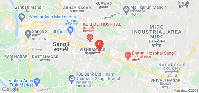 Walchand college of Engineering, Sangli - Miraj Road, Viya Nagar, Vishrambag, Sangli, Maharashtra, India