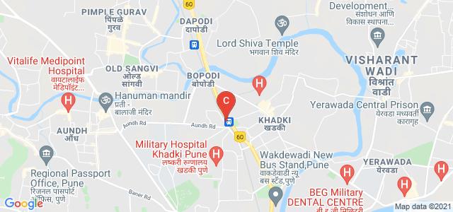 Symbiosis Institute of Management Studies, Range Hills Road, Indrayani Nagar, Range Hills, Pune, Maharashtra, India