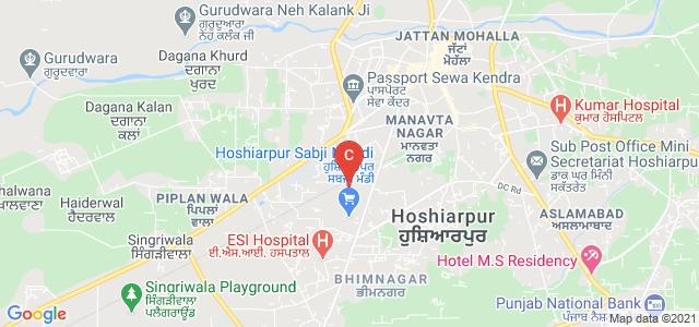 SD College, New Deep Nagar, Hoshiarpur, Punjab, India