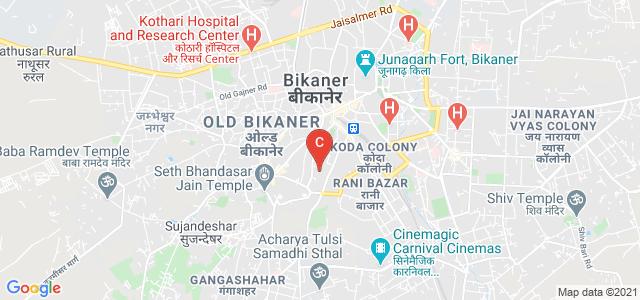 Shri Jain Girls College, bikaner, Gangashahar Road, Chhipon Ka Mohalla, Bikaner, Rajasthan, India