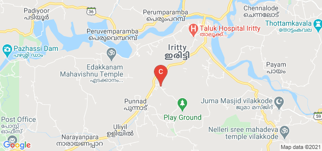 M G College Iritty, Keezhur Kunnu, Punnad, Kerala, India