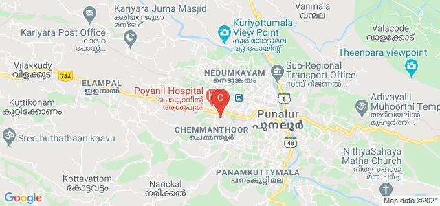 Sree Narayana College, Punalur, Chemmanthoor, Punalur, Kerala, India