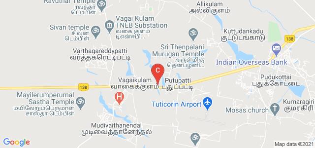 Rajalakshmi College of Arts and Science, Thoothukudi, Tamil Nadu, India