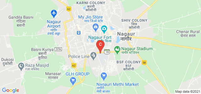 Shri BALDEV RAM Mirdha Govt College, Jat Colony, Nagaur, Rajasthan, India