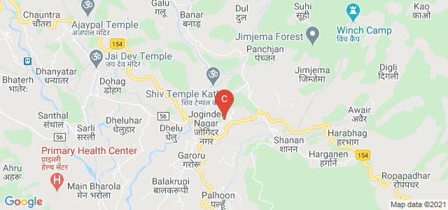 Rajiv Gandhi Memorial Government College, College Road, Joginder Nagar, Himachal Pradesh, India