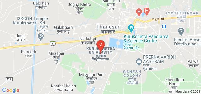Kurukshetra University, Thanesar, Haryana, India