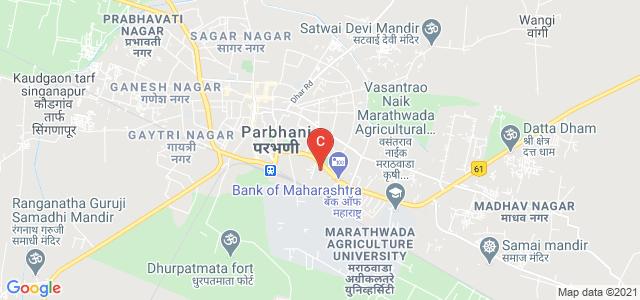 Shri Shivaji College, Parbhani, National Highway 61, Shivaji Nagar, Parbhani, Maharashtra, India