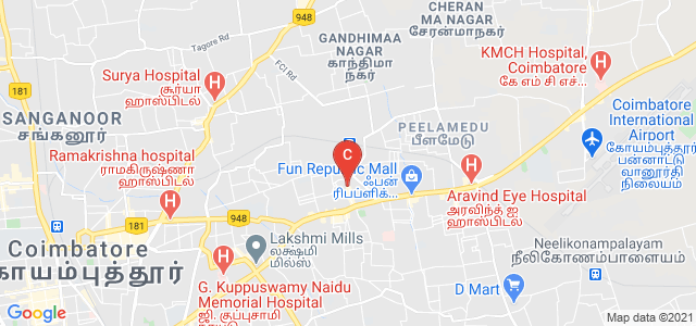 PSG College Of Technology, Avinashi Road, Peelamedu, Coimbatore, Tamil Nadu, India