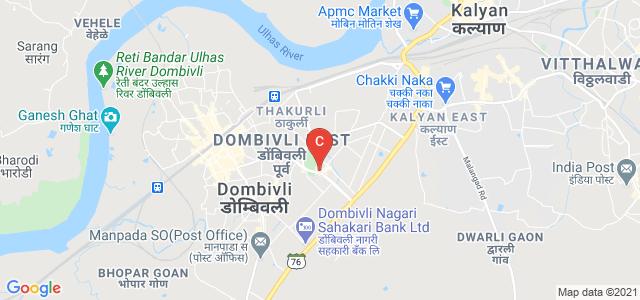 K. V. Pendharkar College, opposite MIDC Office, Azde Gaon, Tata Power Company Limited, Dombivli East, Mumbai, Maharashtra, India