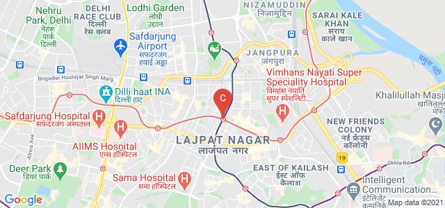 Lady Shri Ram College For Women, Lala Lajpat Rai Road, Opposite Bluebells School, Lajpat Nagar IV, Lajpat Nagar 4, New Delhi, Delhi, India