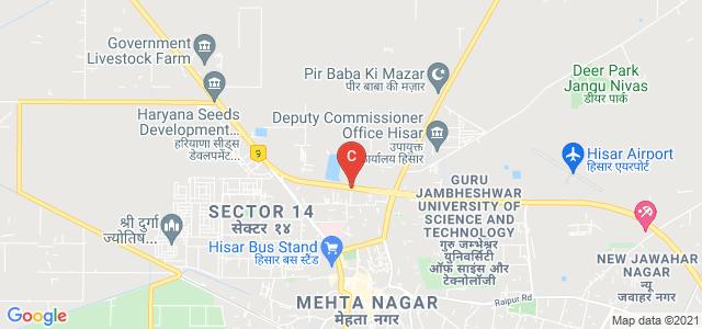 Hisar-Delhi Bypass Road, Arti Nagar, Police Line Hissar, Hisar, Haryana 125001, India