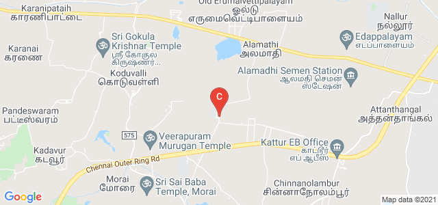 Vel Tech High Tech Dr.Rangarajan Dr.Sakunthala Engineering College, Chennai, Tamil Nadu, India