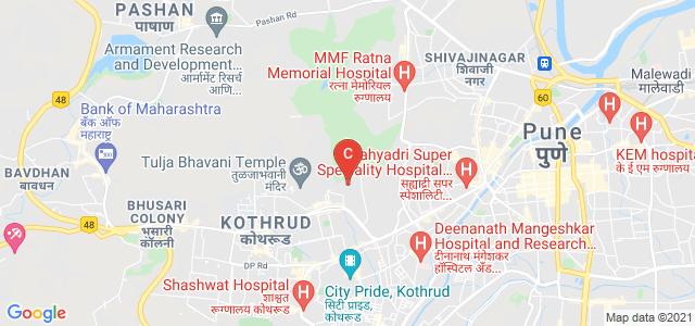 Institute of Management and Entrepreneurship Development, Rambaug Colony, Kothrud, Pune, Pune, Maharashtra, India