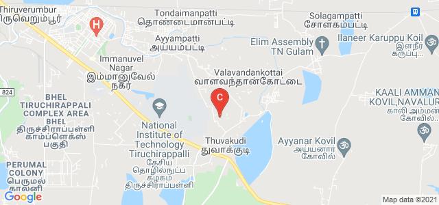 National Institute of Technology Tiruchirappalli, Tiruchirappalli, Tamil Nadu, India
