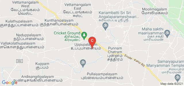 Karur Velalar College of Arts and Science for Women, Erode - Karur Road, Uppupalayam, Karur, Tamil Nadu, India