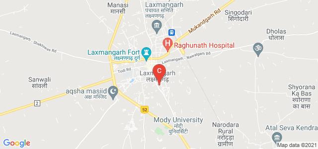 Mody University of Science and Technology, Sikar Rd, Laxmangarh, Sikar, Rajasthan, India
