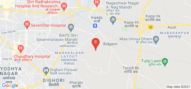 Symbiosis Centre for Management Studies   SCMS Nagpur, Bhandewadi, Wathoda Layout, Nagpur, Maharashtra, India