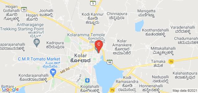 Govt. First Grade College for Women, Kolaramma Temple Road, Fort Area, Kolar, Karnataka, India