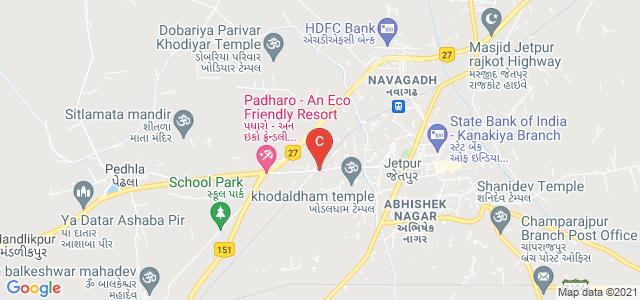 Sardar Patel Kelavni Mandal, near Railway Crossing, Chamunda Nagar, Jetpur, Gujarat, India