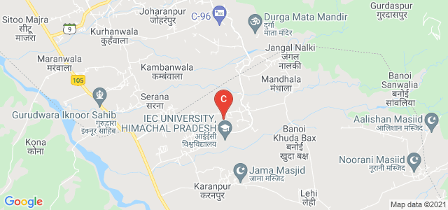 IEC UNIVERSITY, Pinjore, Solan, Himachal Pradesh, India